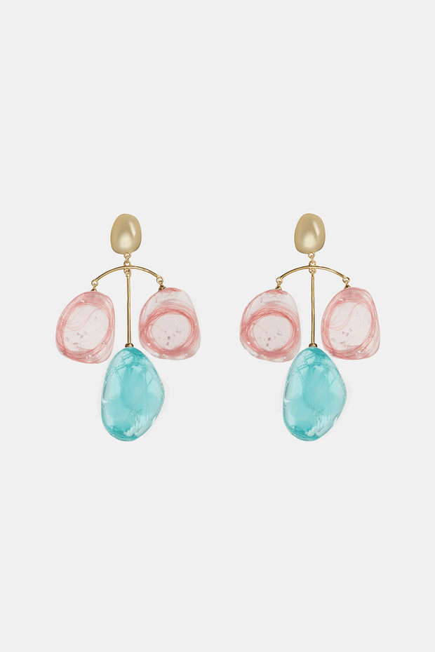 Patter Drop Earrings