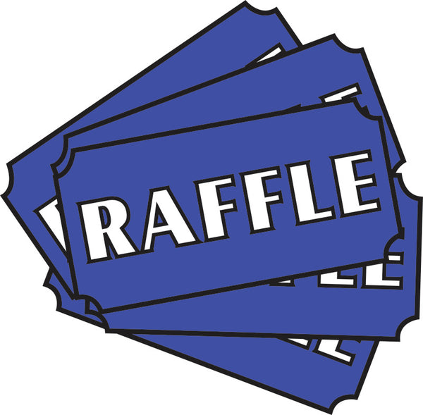 Raffle Tickets, 3 for $25