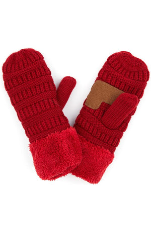 CC Kids Knit Mittens