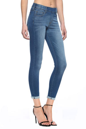Pull On Cropped Skinny Jean