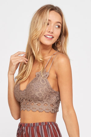 Scalloped Lace Bralette