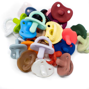 Silicone Pacifier - Flat