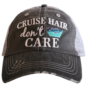 Cruise Hair Don't Care Baseball Hat in Mint