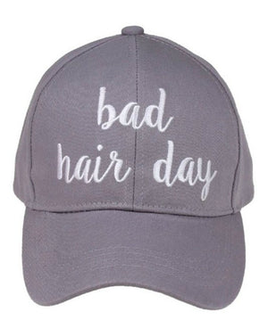 Bad Hair Day Hat in Gray
