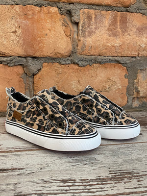 Blowfish Play Leopard Print Slip On Sneaker