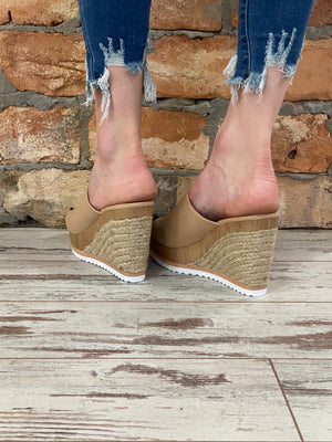 Slip On Wedge Espadrille