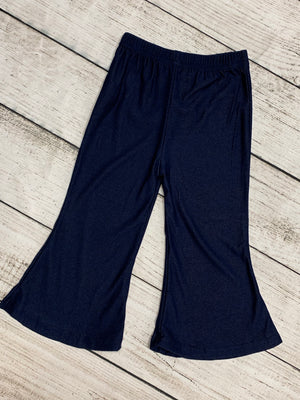 Bell Bottoms in Dark Denim