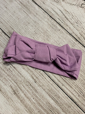 Adjustable Head Wrap in Lavender