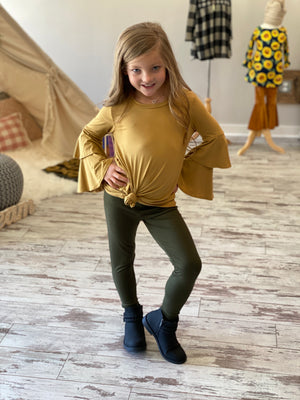 Leggings in Olive