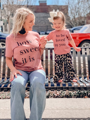 To Be Loved By You Onesie or Tee