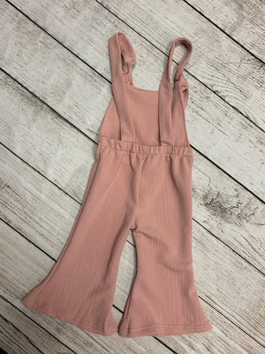Bell Bottom Jumpsuit in Mauve