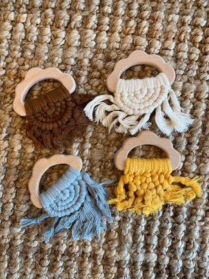 Wooden Tassel Teether
