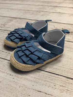Infant Espadrilles in Denim