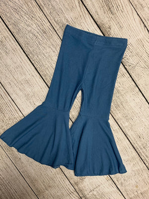Bell Bottom Pants in Light Denim