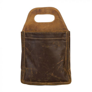 Leather 6 Pack Beer Caddy