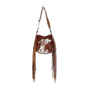 Side Fringe Hairon Purse