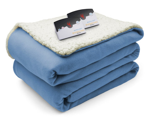Comfort Knit Sherpa Blanket (Digital)