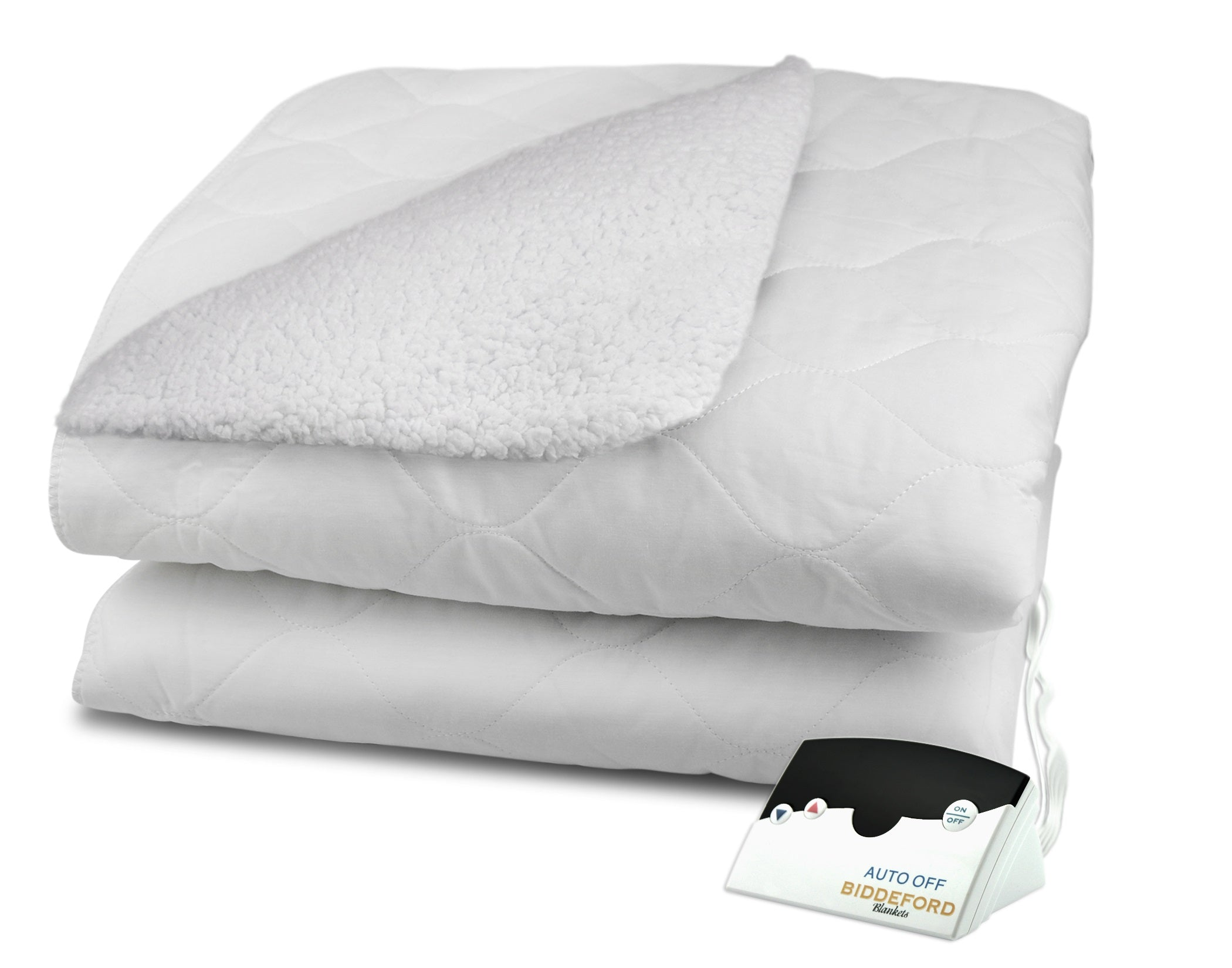 Sherpa Heated Mattress Pad (Digital) | Biddeford