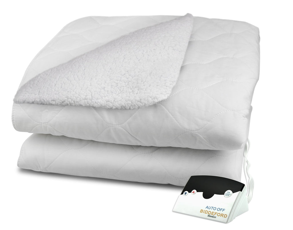Sherpa Heated Mattress Pad (Digital)