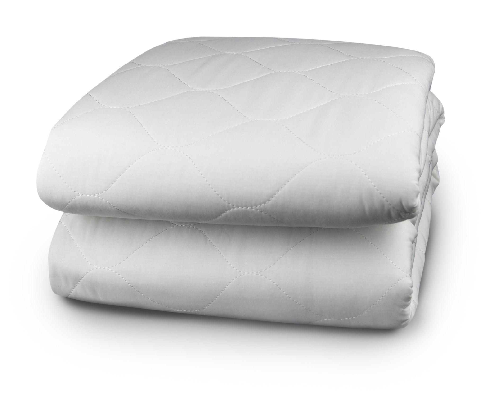50 Cotton50 Polyester Quilted Skirt Mattress Pad Digital