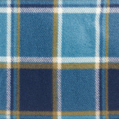 Blue Plaid - detail
