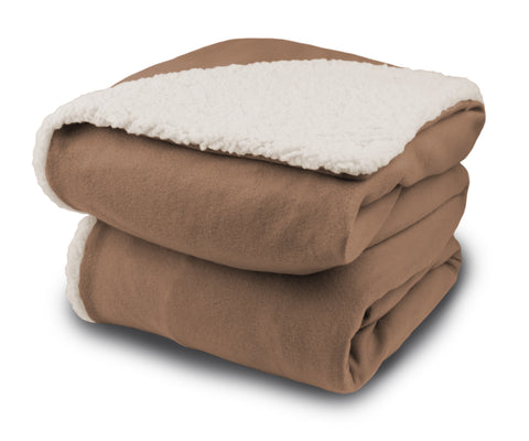 Comfort Knit / Sherpa Throw (Analog)