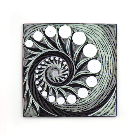 Quilled Nautilus Art