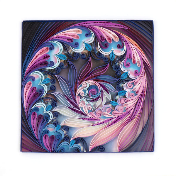 Quilled Purple Haze Art