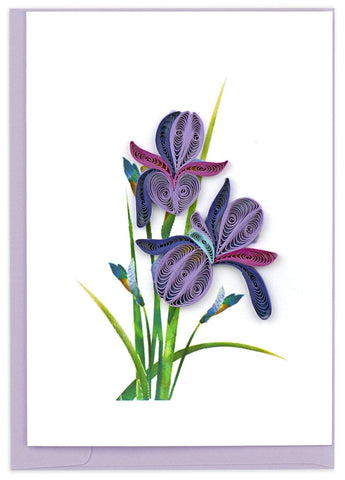 Quilled Iris Notecard Box Set