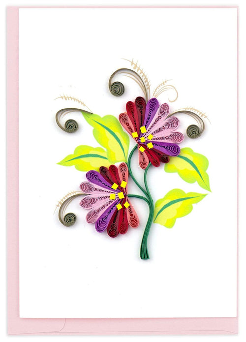 Quilled Wild Flower Notecard Box Set