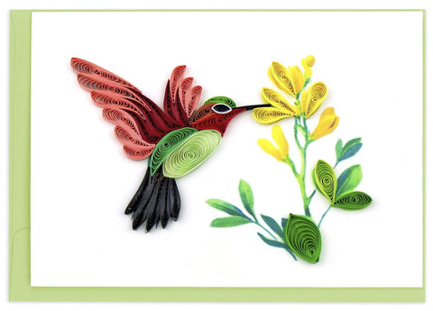 Quilled Hummingbird Notecard Box Set