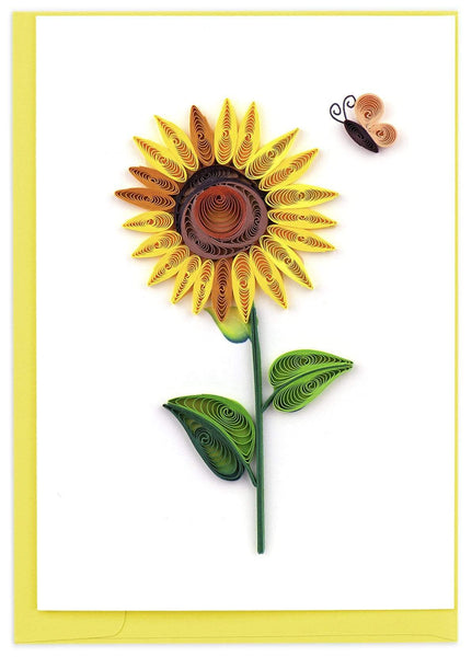 Quilled Sunflower Notecard Box Set