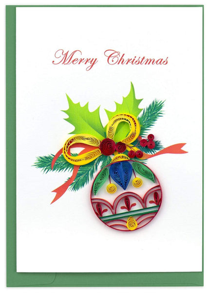 Colorful Ornament Holiday Card Box Set