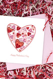 Quilled Valentine's Heart Greeting Card
