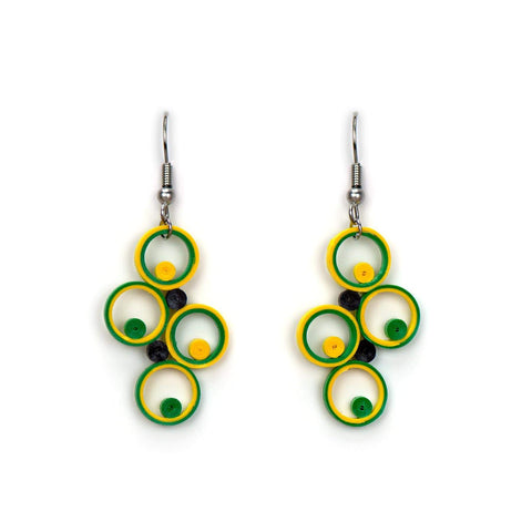 EAR046 | Lemon-lime Dangle