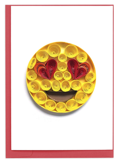 Quilled Love Emoji Gift Enclosure