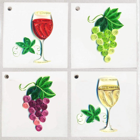 GT300 | Grapes & Wine gift tags