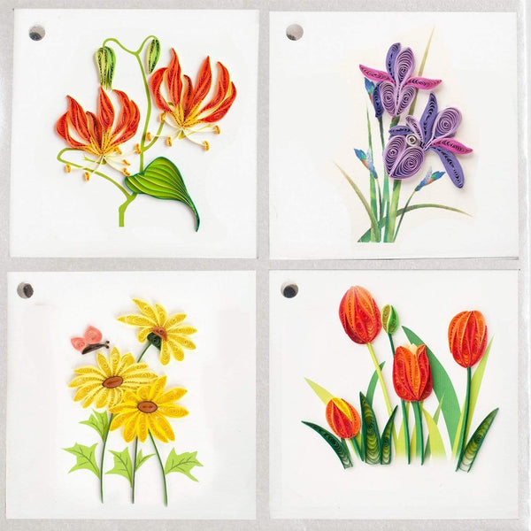 GT301 | Flowers gift tags