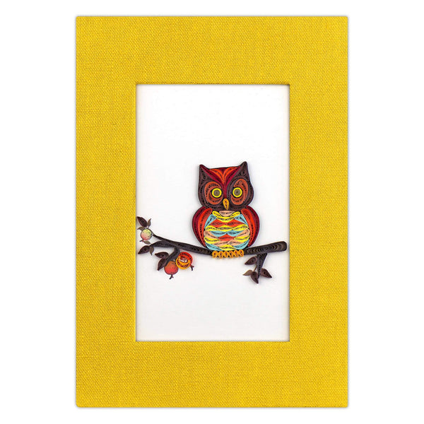 Quilled Owl Journal