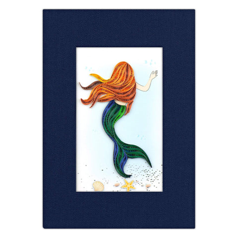 Quilled Mermaid Journal