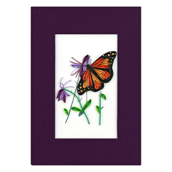 Quilled Monarch Butterfly Journal