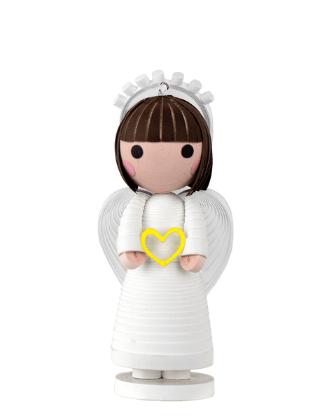 A Quilled Love Angel Ornament