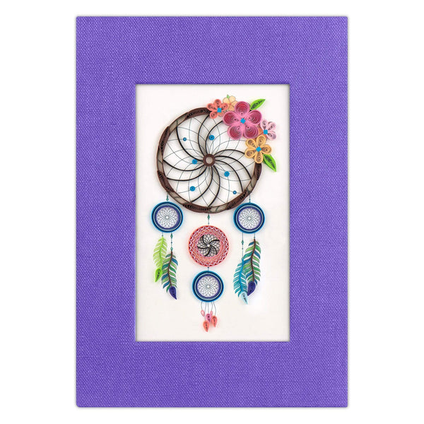 Quilled Dreamcatcher Journal