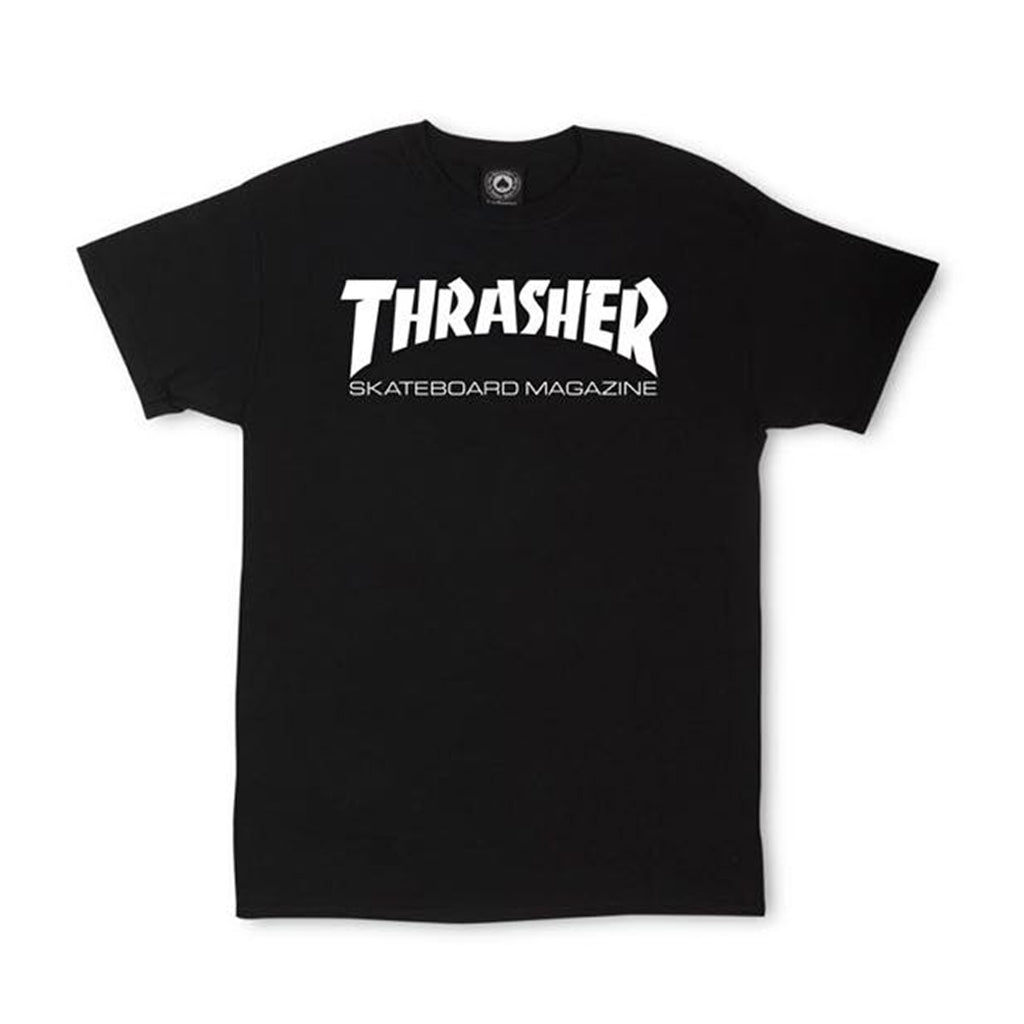 Camiseta - Thrasher Skate Mag Black