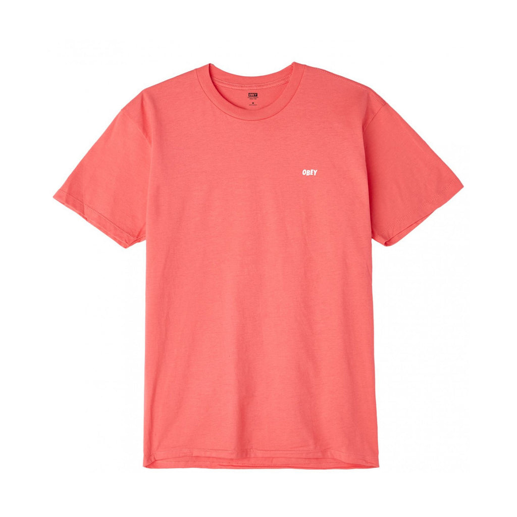 Camiseta Obey - Jumble Low-Fit Basic Coral