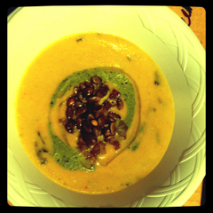 Puree of Butternut Squash by Chef Laslow