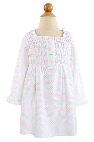 Pink Dot Nightgown-AKF