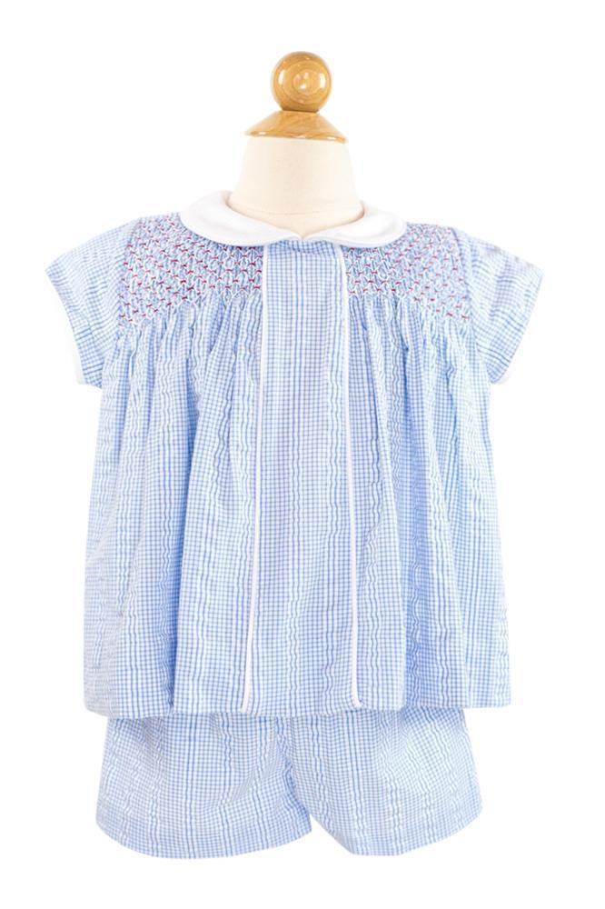 Smocked Diaper Shirt