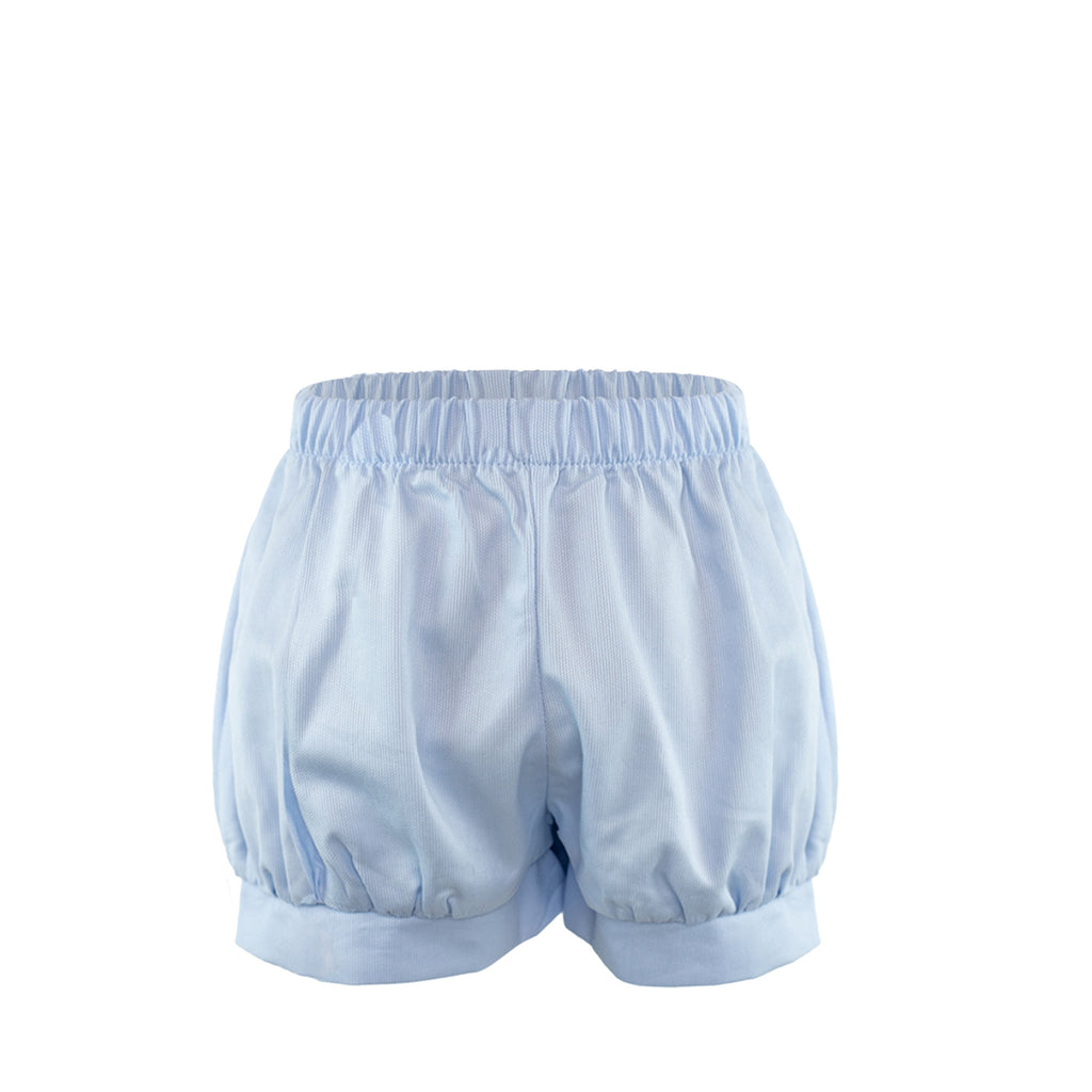 Band Short - Blue Pique Size 3T