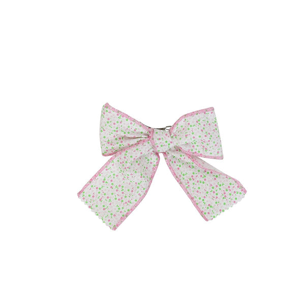Bow- Pink English Garden- Sample